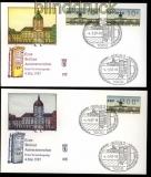 Berlin ATM 1987 Mi # 1 Versandstellensatz auf FDC (31400)
