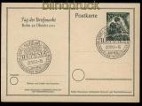 Berlin GSK P 27 Tag der Briefmarke 1951 Sonderstempel Stuttgart (32007)