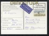 Berlin ATM 1987 Mi # 1 Postsache 5 Pfg. EF als Luftpostzuschlag (35972)