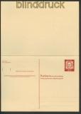 Bund Ganzsachenkarte GSK P 64 ungebraucht 20,00€(20420)