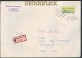 Bund ATM 1981 840 Pfg. Fälschung zum Schaden der Post (24087)