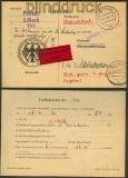 Bund Eilboten-Vorfindekarte Lübeck-Wiesbaden 1960 (24129)
