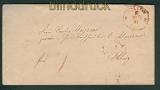 NDP STETTIN roter Franko-Stempel 28.2.1871 (25554)