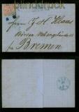 Norddeutscher Bund Mi # 4 Bahnpostaufgabe Papenburg  (41019)