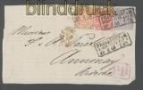 Norddeutscher Bund Mi # 8 U MiF Vorderseite signiert (43489)