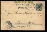 Togo GSK P 1 Klein-Popo 9.3.1900 nach Baden-Baden (32177)