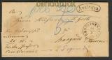 dt. Reich Postvorschuß-Auslagenbrief Carolinensy(20578)