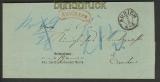 dt. Reich Postvorschuß-Auslagenbrief Aurich 1873(20579)