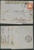 dt. Reich Mi # 9 L 16 EF Mannheim 19.3.1872 (20471)