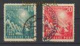 Bund Mi #  111/12 gestempelt Bundestag (21090)