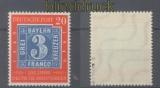Bund Mi #  114 II  Plattenfehler postfrisch geprüft Schlegel BPP (43569)