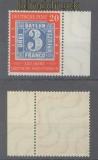 Bund Mi #  114 IV 100 Jahre dt. Briefmarken postfrisch (41104)