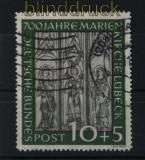 Bund Mi #  139 gestempelt 10 Pfg. Marienkirche (28132)