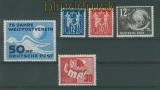DDR Mi #  242, 243/44, 245 + 250 postfrisch vier verschiedene Ausgaben (26761)