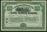 USA Aktie Chicago Rock Islands Pacific Railroad Companie 1916 Expertise (41354)