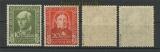 Bund Mi #  117/20 Helfer der Menschheit 1949 postfrisch geprüft Schlegel BPP (23871)