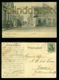 LINGEN sw-AK Am Markt Lookenstrasse 1907 (d6766)