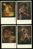 Thomas Riss vier verschiedene Künstlerkarten ungebraucht (d6440)