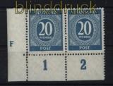 all. Besetzung Mi # 924 DZ F Druckerzeichen postfisch (29136)