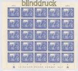 all. Besetzung Mi # 966 Leipziger Messe kompletter postfrischer Bogen (35990)