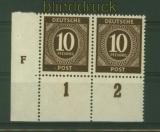 all. Besetzung Mi # 918 DZ F Druckerzeichen postfisch (29130)
