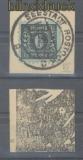 SBZ Mi #   8 x VI gestempelt auf Briefstück gepr. Kramp BPP (35654)