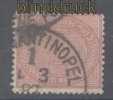 Deutsche Post Türkei Mi # V 37 b gestempelt (43555)