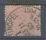 Deutsche Post Türkei Mi # V 37 c gestempelt (43556)