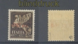 dt. Besetzung 2. WK Zante Mi # 3 I Aufdruckmarke postfrisch gepr. Ludin BPP (43693)