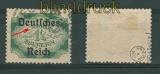 dt. Reich Dienst Mi # 47 I gestempelt gepr. Infla (26882)