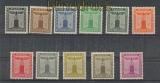 dt. Reich Dienst Mi # 144/154 kplt. postfrischr (22243)