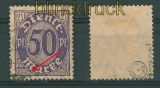 dt. Reich Dienst Mi # 21 I gestempelt gepr. Infla (26879)