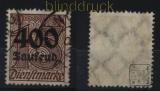 dt. Reich Dienst Mi #  94 gestempelt geprüft Infla Berlin (33383)
