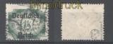 dt. Reich Dienst Mi #  47 I gestempelt geprüft Winkler BPP (30378)