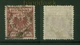 dt. Reich Mi #  50 a gestempelt geprüft Jäschke-L. BPP (42330)