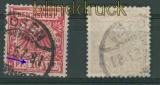 dt. Reich Mi # 47 d V gestempelt Jäschke-L BPP (26821)
