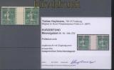 Memelgebiet Mi #  54 b ZW Zwischensteg ungebraucht Befund (45298)