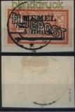 Memelgebiet Mi # 46 y gestempelt auf Briefstück geprüft Klein BPP (32728)