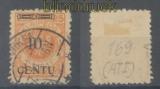 Memel Mi # 169 A I gestempelt geprüft Huylmans BPP (36057)