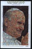 Palau Mi # 1836/43 80. Geburtstag von Papst Johannes Paul II.postfrischer Kleinbogen (30654)