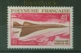 Französisch Polynesien Mi # 92 postfrisch Concorde (41244)