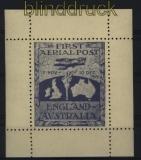 Australien First Aerial Post England-Australia postfrisch Nachdruck (31785)