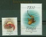 Tonga Mi # 1215/16 Meerestiere postfrisch (42092)