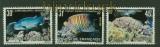 Französisch Polynesien Mi # 343/45 Fische postfrisch (34762)