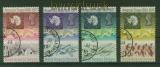 Britische Gebiete Antarktis Mi # 39/42 gestempelt Antarktisvertrag (41945)