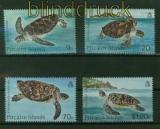 Pitcairn-Inseln Mi # 274/77 Schildkröten postfrisch (42103)