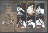 Domenica Mi # 3875/79 Elvis Presley postfrischer Kleinbogen (29805)