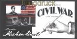Antigua & Barbuda Mi # 4996/99 150. Jahrestag des amerikanischen Bürgerkriegs ** Klbg. (29810)