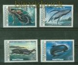 Dominica Mi #  805/08 Wale postfrisch (41411)