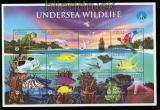 Antiqua und Barbuda Mi # 2740/51 postfrischer Zusammendruckbogen Ozean  (35528)